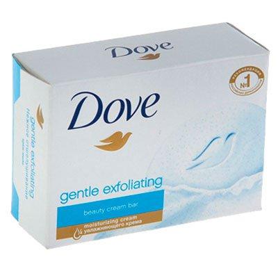 Мыло-крем Dove нежное отшелушивание 100гр (3шт)