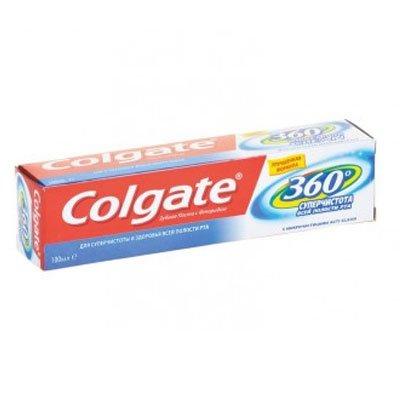 Зубная паста «Colgate 360» суперчистота 100мл