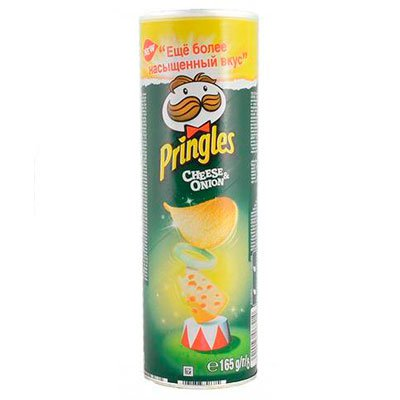 Pringles / Принглс сыр+лук 170г (2шт.)