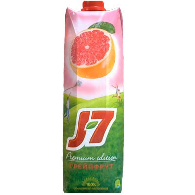 J7 / Джей Севен Грейпфрут розовый 1,0л (12шт.)