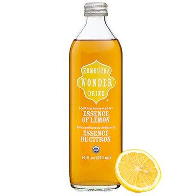 Комбуча / Kombucha Essence of Lemon с экстратом лимона 0,414л ст (12шт)