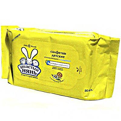 Салфетки Ушастый нянь (80шт)