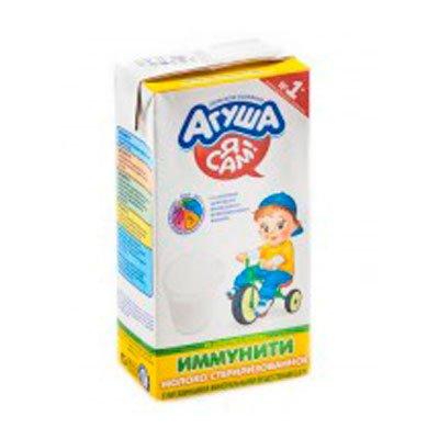 Молоко Агуша иммунити 2,5% 0,5л (15шт)