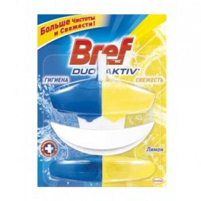 Чистящее средство д/унитаза Bref duo aktiv лимон сменный блок 2х50ml (1шт.)