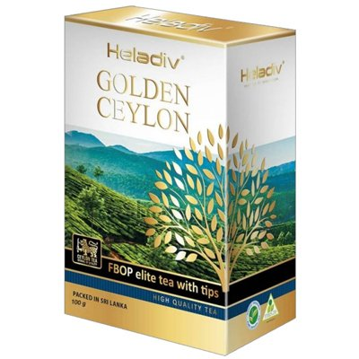 Heladiv golden ceylon fbop elite tea with Tips 100 гр