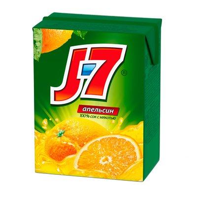 J7 / Джей Севен Апельсин 0,2л (6шт.)