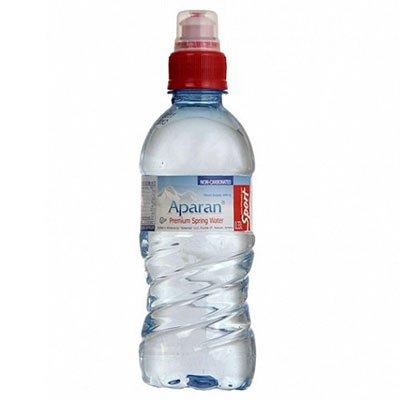 Вода Апаран 0.33 литра, спорт, без газа, пэт, 12шт. в уп.