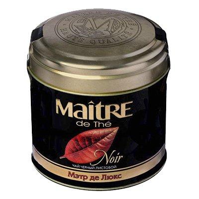 Чай Maitre де Люкс черный (100гр)