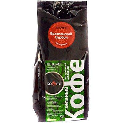 Зеленый молотый кофе Бразильский бурбон м/у (200гр)