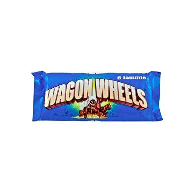 Печенье-суфле Wagon Wheels с джемом 244 г (3шт.)