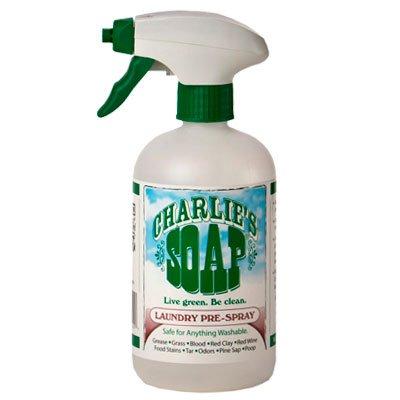 Биоразлагаемый спрей-пятновыводитель для замачивания и выведения пятен до стирки Charlies Soap Laundry Pre-Spray 500мл