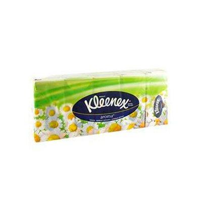 Носовые платочки Kleenex ромашка (100шт.)