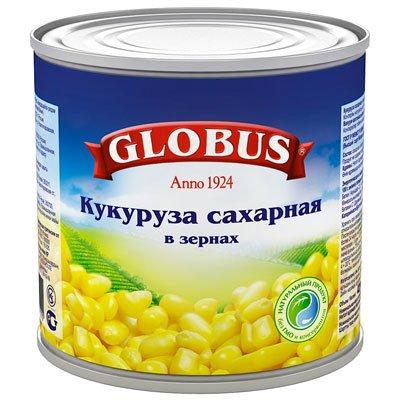 Кукуруза Globus 425 гр (4шт)