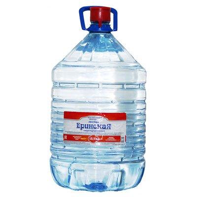 Вода Еринская экстра структурированная 18,9 литров в одноразовой таре