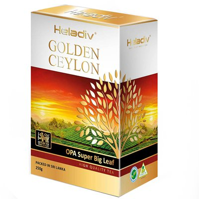 Heladiv golden ceylon Opa Super Big Leaf 250 гр