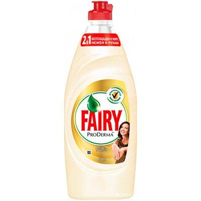 Средство для мытья посуды Fairy ProDerma алоэ и кокос 650 мл.