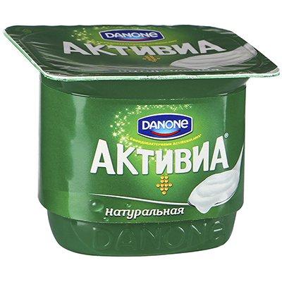 Йогурт Активиа натуральный 150 гр