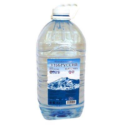 Вода Эльбруссия 5 литров, 2шт. в уп.