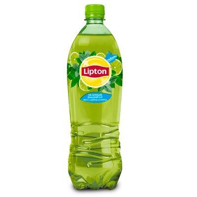 Lipton Ice Tea / Липтон Зеленый со вкусом лайма и мяты 1л пэт (12шт)