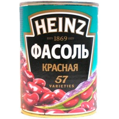 Фасоль красная HEINZ 400гр.(2шт)
