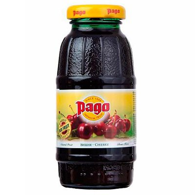 Pago / Паго вишневый 0,2л ст. (24шт.)
