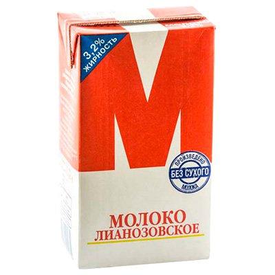 Молоко стерилизованное «М» 3,2% 950г (12шт.)