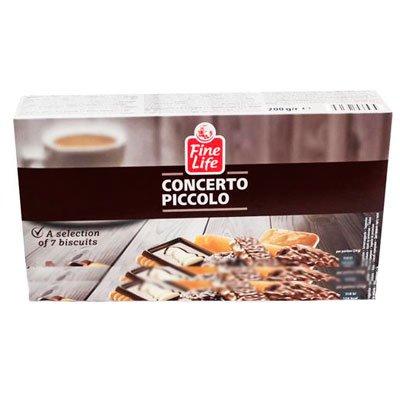 """Печенье """"Concerto piccolo"""" ассорти 200гр (1шт.)"""