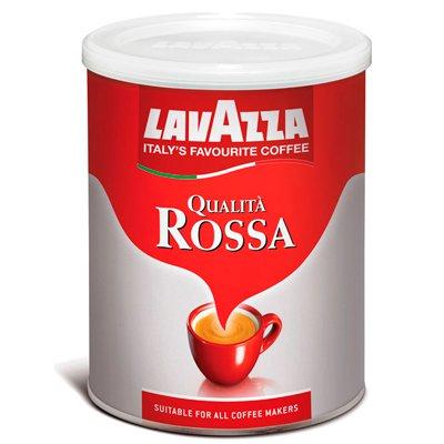 LavAzza / Лавацца Qualita Rossa молотый ж/б (250гр)