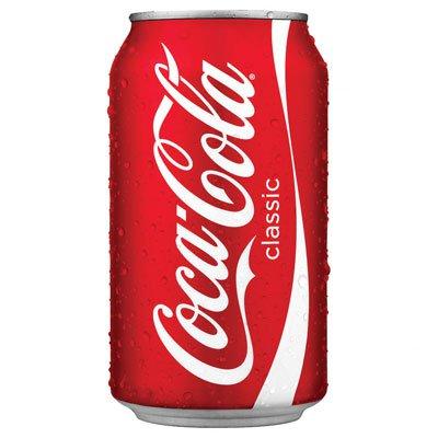 Coca-cola / Кока-Кола 0,355л импорт ж/б (24шт)