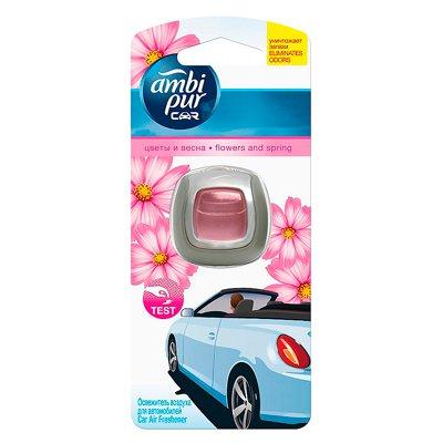 Ароматизатор Ambi Pur для автомобилей Цветы и весна