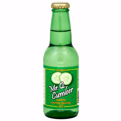 Газированный напиток с экстрактом огурца Mr. Q. Cumber 0,208л ст (24шт)