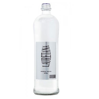Вода Lauretana Pininfarina 0.75 литра, газ, стекло, 6шт. в уп.