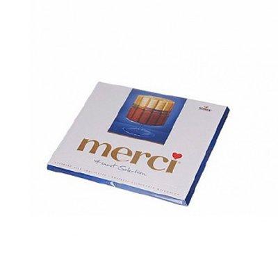 Конфеты Merci молочный шоколад 250г (1шт.)
