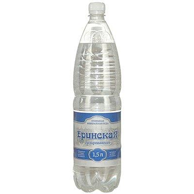 Вода Еринская лечебно-столовая 1.5 литра, газ, пэт, 6шт. в уп.