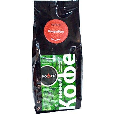 Зеленый молотый кофе Колумбия м/у (500гр)