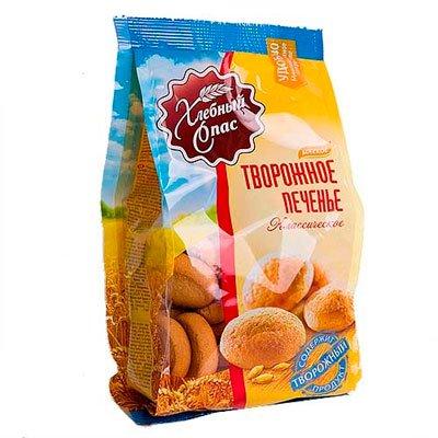 Печенье Хлебный спас творожное 200 гр