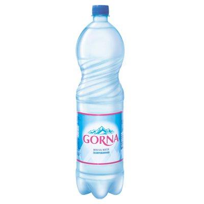 Вода Gorna 1.5 литра, газ, пэт, 6шт. в уп.