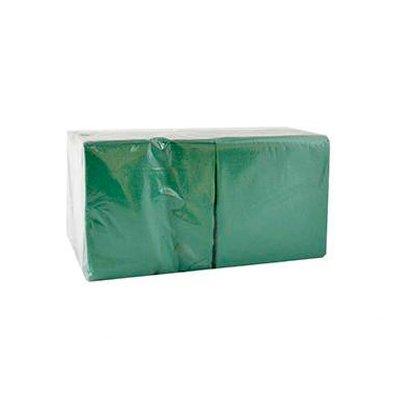 Салфетки однослойные BigPack зеленые 24х24 (400) (1шт.)