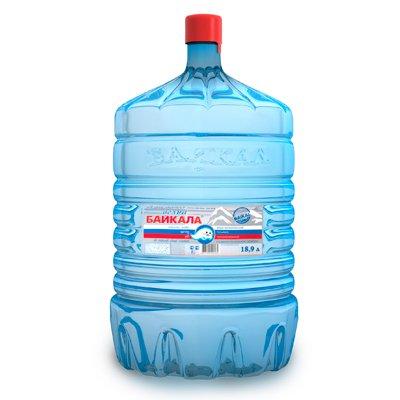 Вода Волна Байкала 19 литров в одноразовой таре