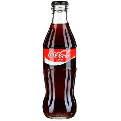 Coca-cola Zero 0,25л ст (12шт)
