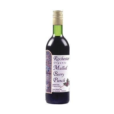 Безалкогольный Ягодный пунш со специями Rochester Organic Mulled Berry Punch (245 мл)