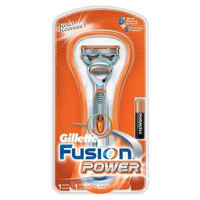 "Стан/брит ""Gillette""fusion power(серый/мужской)"