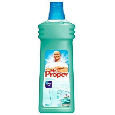 """Моющее средство """"Mr.Proper"""" Гоный ручей и прохлада 0,750л"""