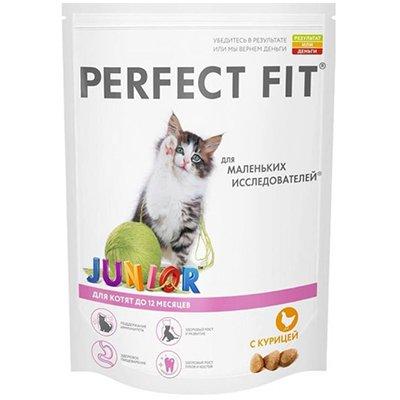Корм для кошек Perfect Fit Junior курица (190гр)