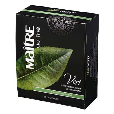 Чай Maitre Классический зеленый (100пак)