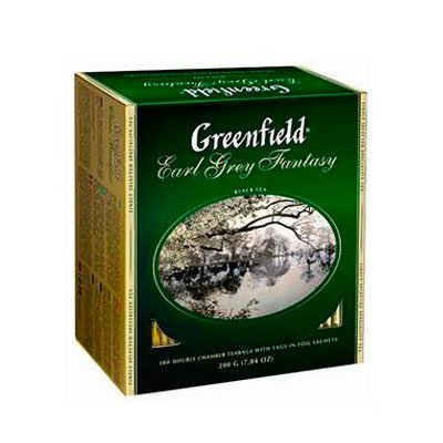 Greenfield / Гринфилд Earl Grey Fantasy (100пак)