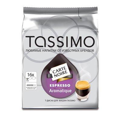 Кофе в капсулах Tassimo Карт Нуар Эспрессо Ароматик (16шт)