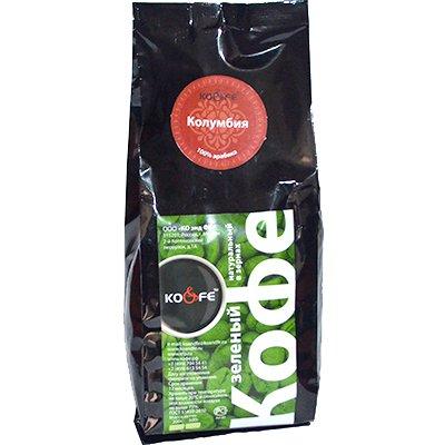 Зеленый кофе Колумбия м/у (500гр)