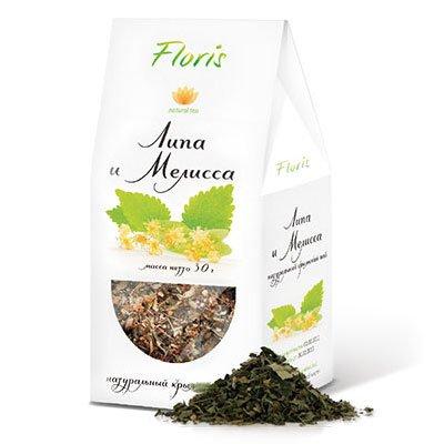 Чай Floris Липа и Мелисса натуральный Крымский 30гр