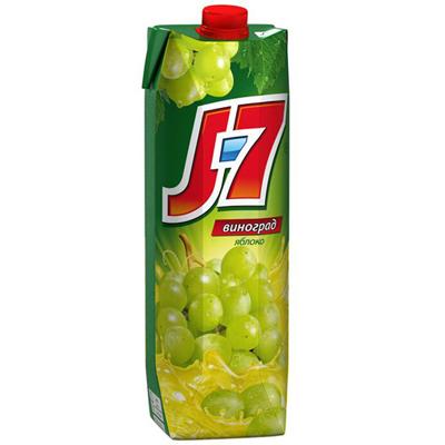 J7 / Джей Севен Виноград / яблоко 1,0л (12шт)